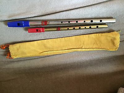 Generation Brass F  Tin Whistle + Generation C Nickel ? Tin Whistle
