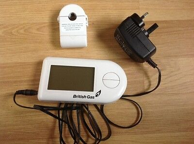 Electricity monitor home energy British Gas EnergySmart
