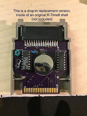 Atari 800/XL/XE ICD R-Time8 DROP IN Replacement