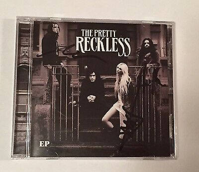 Autographed/Signed: The Pretty Reckless EP