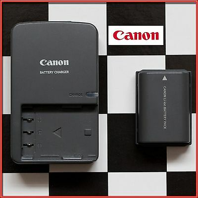 Genuine Original CANON Charger CB-2LWE PLUS NB-2LH Battery for various models
