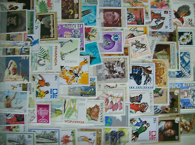 Collection accumulation Rwanda + 70 timbres stamps