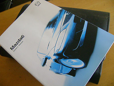 Mazda 6 2002 Owners Hand Book Manual User Guide & Wallet
