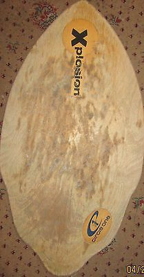 Old Wooden Explosion Surfboard Body Board  (Used)