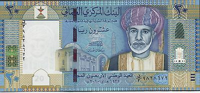 Oman , 20 Rials , 2010 , P 46 , Commemorative National Day