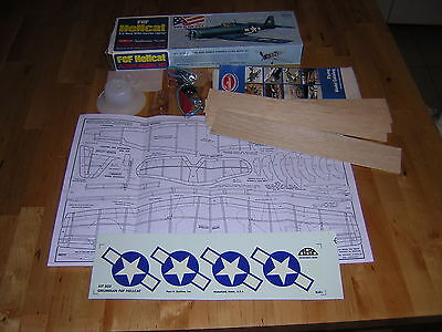 GUILLOW'S F6F Hellcat kit completo per FF Rubber band