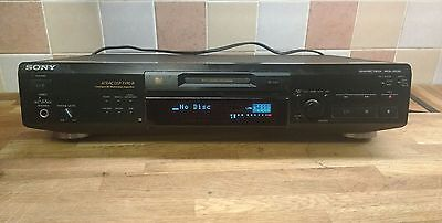 SONY MINI DISC PLAYER RECORDER mds-je530
