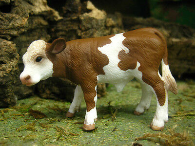 "Retired Schleich Nativity Animal Calf Figurine for 3.5"" Presepio Manger Scene"