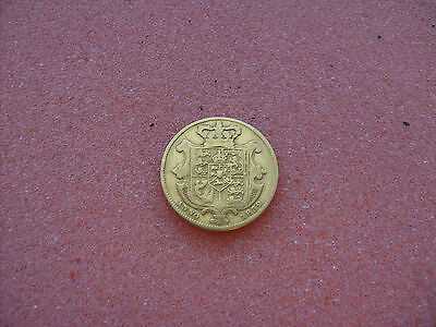 KING WILLIAM THE IV 1832 GOLD SOVEREIGN RARE COIN 7.66 gr.