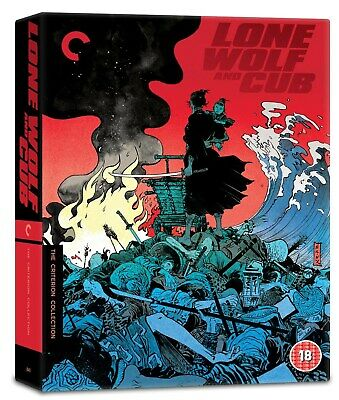 Lone Wolf and Cub - The Criterion Collection (Box Set Restored) [Blu-ray]