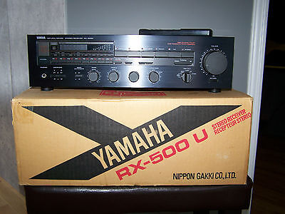 Yamaha RX 500-U Natural Sound Stereo Amplifier