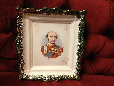 Antique Military Plate.