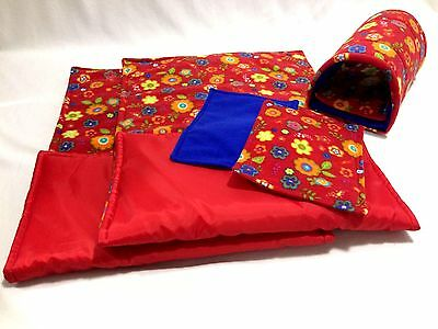 WATERPROOF Guinea Pig and small animal two fleece liners 120x59 SET 1