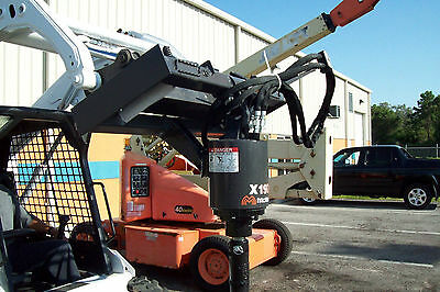 Skid Steer Auger Drive,McMillen X1975 Round Drive,Factory Leftovers,Never Used