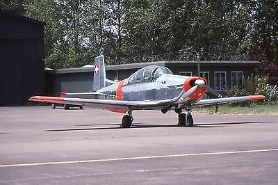 35mm Aircraft Slide - Pilatus  P.3  A-869  Swiss AF