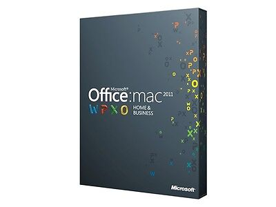 Microsoft Office 2011 for Mac - Home and Business Fast Digital Download