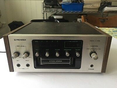 Pioneer H-R99 8 Track Tape Deck Player As Is For Parts Or Repair