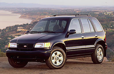 Kia Sportage Workshop manual 1998-2000