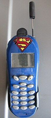 vintage Superman  cell phone with case