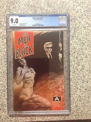 Men in Black #1 CGC 9.0 Aircel 1st Appearance Comic