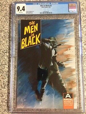 Men in Black #2 CGC 9.4 Aircel 1st Appearance Comic