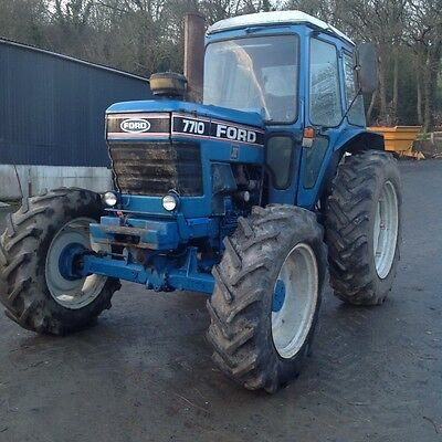 Ford 7710 Tractor 4wd