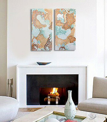 ORIGINAL LARGE MODERN OIL PAINTING Abstract Wall ART Contemporary canvas Decor
