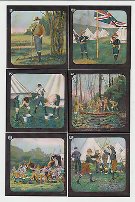 Boy Scouts : Scouting : Limited Edition UK trade card set