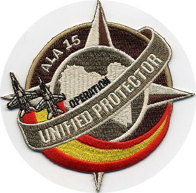 Original Patch Ala 15 Operation Unified Protector Fabricante Holandes: Aps