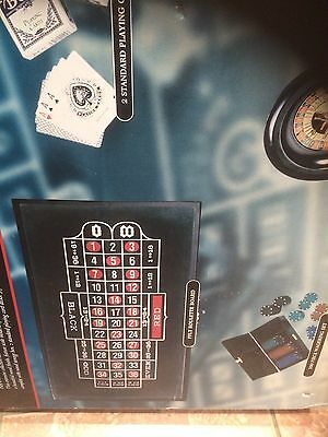 3 In 1 CASINO GAME SET TABLES (NEW NEVER OPENED)