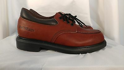 New Red Wing 105 brown steel toe leather work shoes size 8 E2