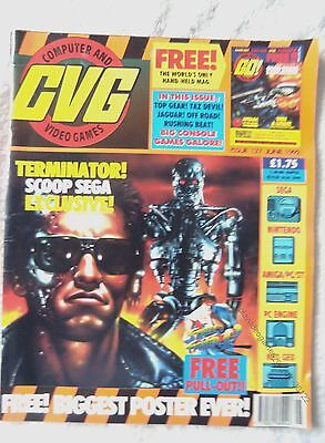 36122 Issue 127 CVG Computer And Video Games Magazine 1992