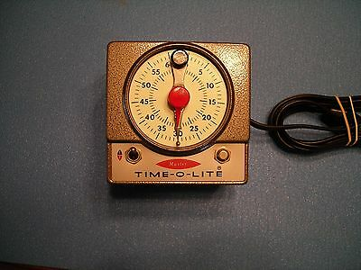 Vintage Darkroom Photography Equipment  MASTER TIME-O-LITE Industrial Timer M-72