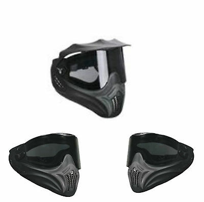 Vents Avatar Paintball Goggles, Thermal Dual-Lense Speedball Goggles Red, New