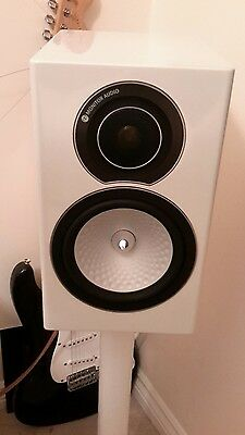 Monitor Audio Silver RX1 Gloss White Stereo Speakers