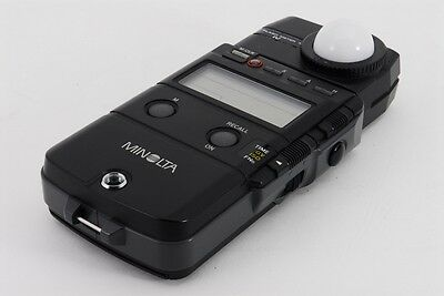 【Near MINT】 Minolta Flash Meter IV Flash/Ambient Light w/Case From Japan # 68186