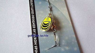 Fishing spinner, micro bait, mepps style - trout, perch, zander, pike fishing