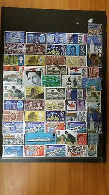 GREAT BRITAIN / UK  used stamps  lot of 55  3 photo 4