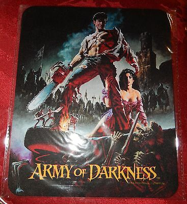Army Of Darkness Mouse Pad Horror Block *New* *No Reserve*