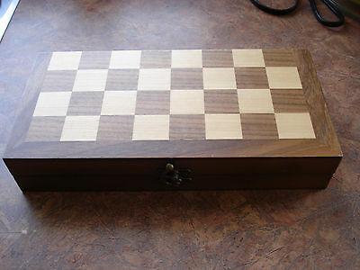 Wooden Magnetic Chess Board Set