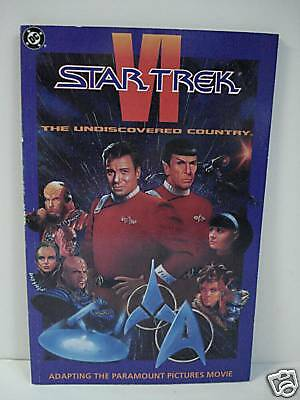 Star Trek The Undiscovered Country Book 1991 Dc Comics