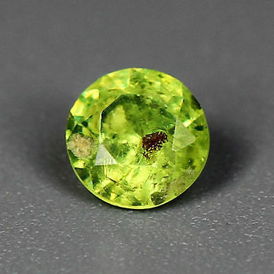 0.23 Cts_Wow Amazing Hot Sale Round Cut_100 % Natural Russian Demantoid Garnet