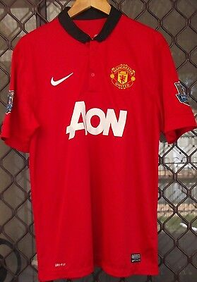 Nike Manchester United Polo - No. 8 Dower - Size Large