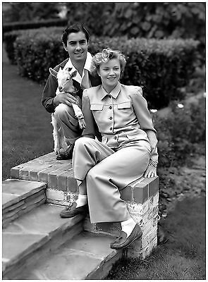 Terrific Tyrone Power Anabella At Home