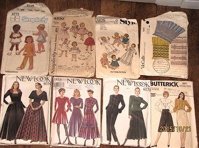 Vintage Clothing Patterns (Butterwick, Simplicity) 20