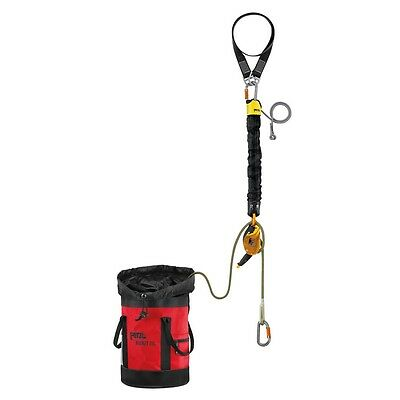 Petzl JAG RESCUE KIT self contained hauling and evacuation kit 60 meters K90060
