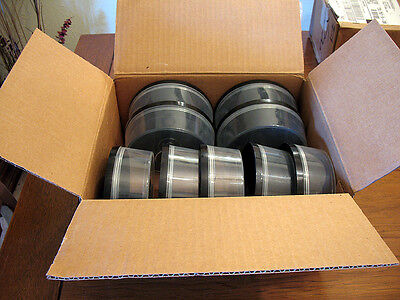 9 EMPTY Spindle CAKE BOXES CASES hold up to 25 CD/DVD Discs each UEC