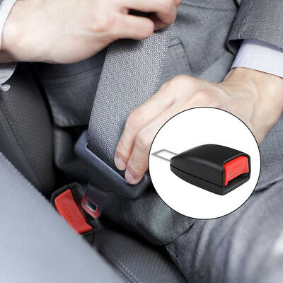 2*Universal Car SeatBelt Extender Vehicle Safety Buckle Clip Seat Belt Extension