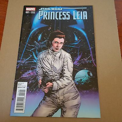 Star Wars Princess Leia #1 (Of 5) 1:25 Guice Variant Cover Marvel Comic Nm