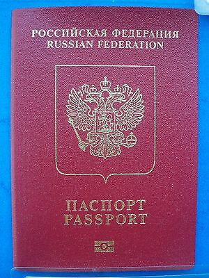 Russia Biometric Passport, Travel Document.